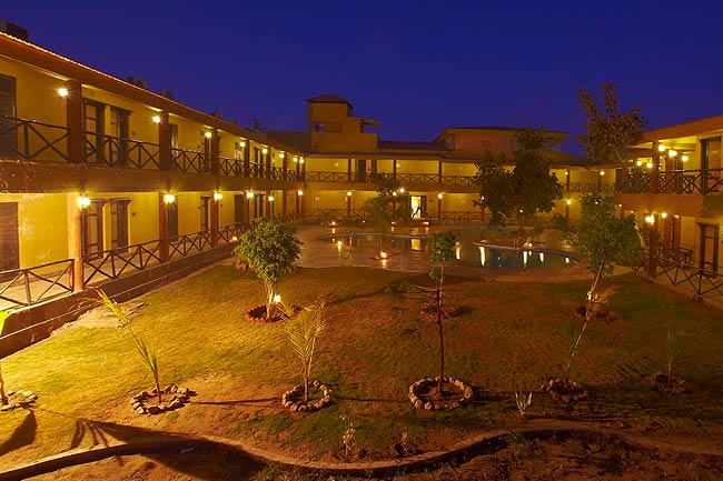 Luxury Resort in Pench Jungles